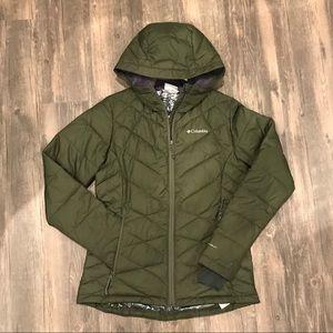 2018 Columbia heavenly hooded jacket Omni heat